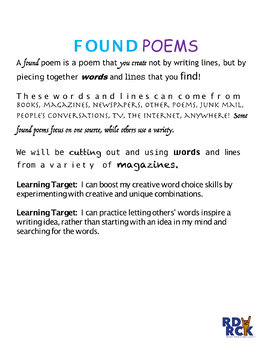 Found Poetry Lesson