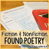 Found Poetry Packet for Fiction and Nonfiction