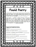 Found Poetry Project