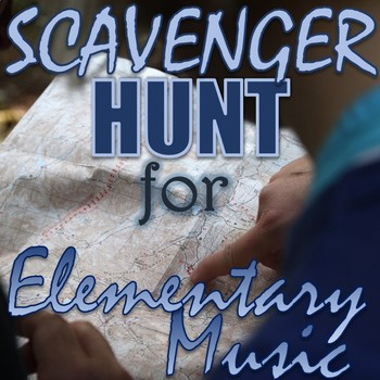"""Scavenger Hunt for Elementary Music - """"Found Sounds"""" - Outside Spring Activity"""