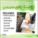 Found Sounds Scavenger Hunt {Great for Distance Learning}