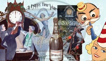 "Found Treasures ""New Year's"" Vintage Clip-Art"