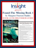 Found by Margaret Peterson Haddix Book Club Discussion Guide