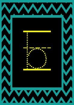 Foundation Alphabet Line Posters