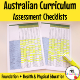 Foundation Australian Curriculum Assessment Checklists - Health & Physical Ed