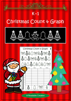 Christmas Count and Graph - BrE Teachers