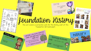 Foundation History Personal and Family Histories unit