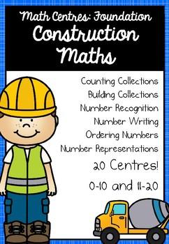 Foundation Math Centres: Construction Maths