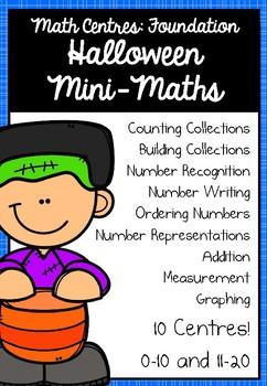 Foundation Math Centres: Halloween Mini-Maths