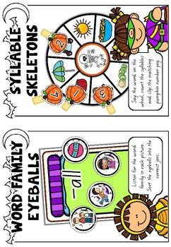 Foundation Literacy Centres: Halloween Mini-Literacy