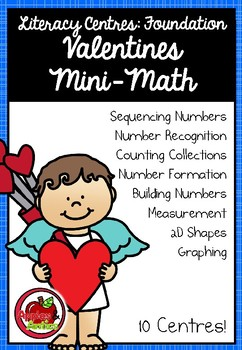 Foundation Math Centres: Valentines Mini-Maths