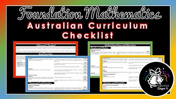 Foundation Mathematics | Australian Curriculum Checklist