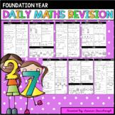 Foundation Maths Revision. Australian Curriculum.