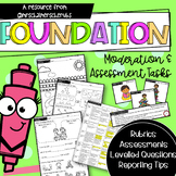 Foundation & Pre-Primary Math Moderation Assessments | Aus