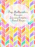 Foundation/Prep/Kindergarten Math Assessment and Learning