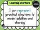 Foundation/ Prep NUMBER & Algebra Learn INTENTIONS & Success Criteria Posters