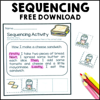 Sequencing Activity Cut and Paste Worksheet FREE DOWNLOAD