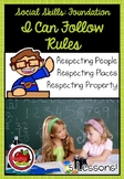 Foundation Social Skills: I Can Follow Rules