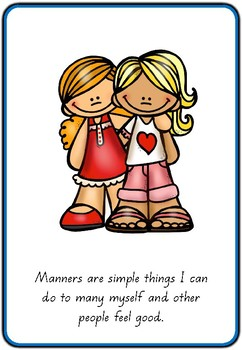 #Ausb2s18 Foundation Social Skills: I Can Use Manners