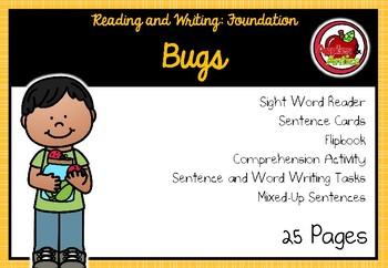 Foundation Themed Reading and Writing: Bugs