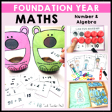 Foundation Year Maths Number and Algebra Activities ACARA
