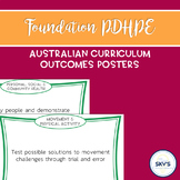 Foundation Year PDHPE Outcomes Posters - AUSTRALIAN CURRICULUM