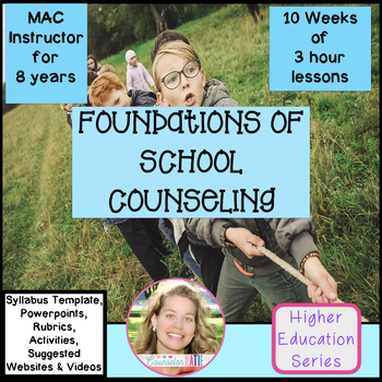 Foundations of School Counseling