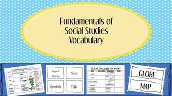 Social studies vocabulary word wall teaching resources teachers foundation of social studies vocabulary word wall posters fandeluxe Gallery