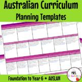Foundation to Year 6 AUSLAN Australian Curriculum Planning Templates
