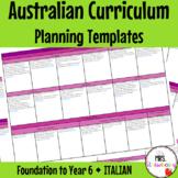 Foundation to Year 6 ITALIAN Australian Curriculum Plannin