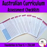 Foundation to Year 6 ITALIAN Australian Curriculum Assessm