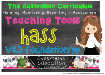 Foundation/Pre Primary HASS v8.3 Australian Curriculum Package