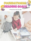 Foundational Reading IEP Goals Bundle Pre-K thru 3rd