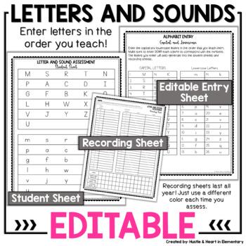 Foundational Skills Assessments EDITABLE