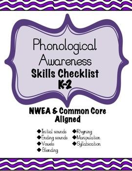 Foundational Skills Checklist BUNDLE! ~NWEA & CCSS ALIGNED~