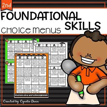 Foundation Skills Choice Boards