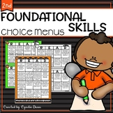 Foundation Skills Choice Boards