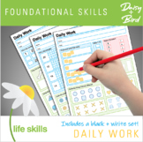 Daily Work Foundational Skills