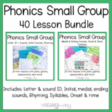 Foundational Skills Mini Lessons Bundle for Phonics