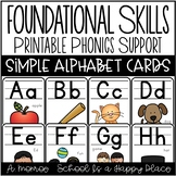 Foundational Skills: Printable Phonics Support {Simple Alp