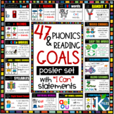 """Phonics & Reading Posters with """"I can"""" statements - 47 Pos"""