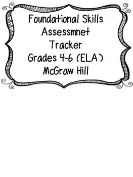 Foundational Skills Ready Book Assessment Tracker