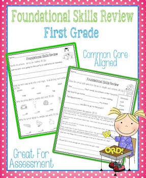Foundational Skills Review: First Grade