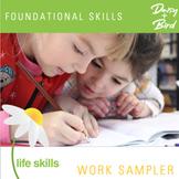 Foundational Skills Work Sampler