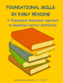 Foundational Skills in Early Reading