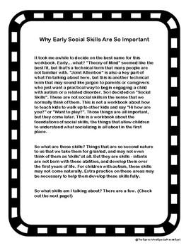 Foundations For Social Skills & Language