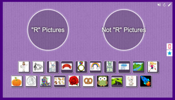 Foundations Kindergarten Letter R Picture Sort