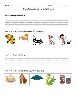 Foundations Level 1 Units 1-14