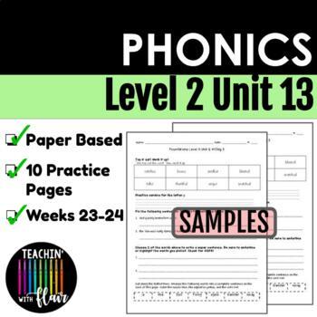 Foundations Level 2 Unit 13