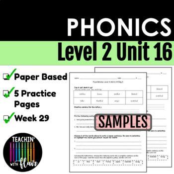 Foundations Level 2 Unit 16